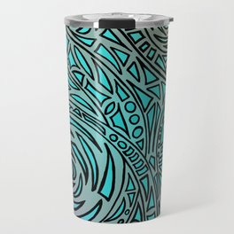 How the river flows - Zentangle Art Travel Mug