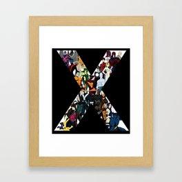 X1 Framed Art Print