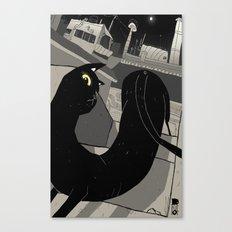 The Gato. Canvas Print