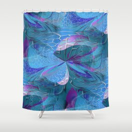 Hodge Podge Abstract Shower Curtain