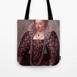 Portrait of Queen Elizabeth I Tote Bag