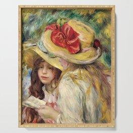 """Auguste Renoir """"Les deux soeurs"""" Serving Tray"""