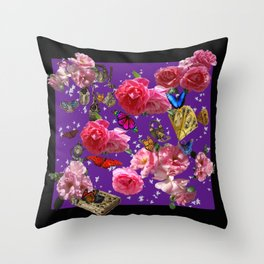 Sweet small secrets. Throw Pillow