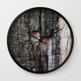 Tree Bark close up Wall Clock