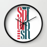 sports Wall Clocks featuring Sports by Sabirg