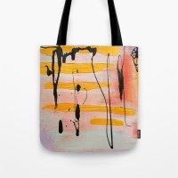 graffiti Tote Bags featuring Graffiti by Iris & Ino