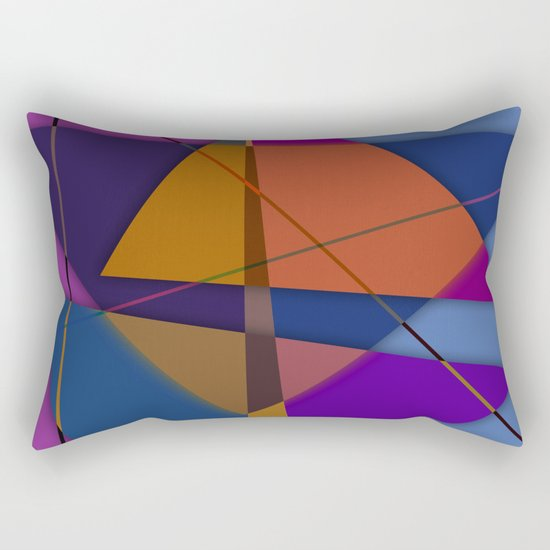 Abstract #435 Rectangular Pillow
