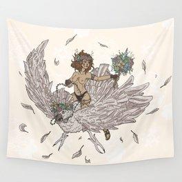 Bird Tamer Wall Tapestry
