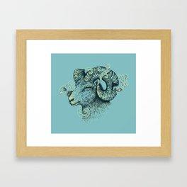 Big Horn Invocation Framed Art Print