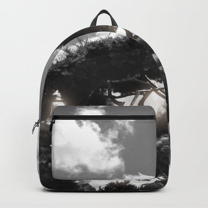 B&W Tree Backpack