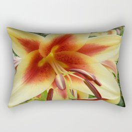 Day Lilly Dreaming Rectangular Pillow