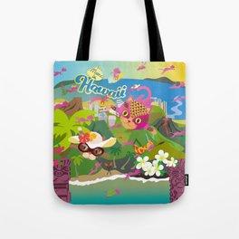 Mews in Hawaii Tote Bag