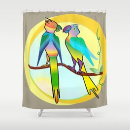 Sweethearts Shower Curtain