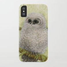 Northern Spotted Owls Slim Case iPhone X