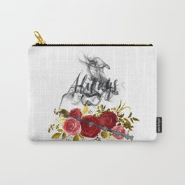 Always Red and Gold Carry-All Pouch