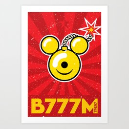 B777M! Art Print