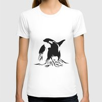 orca T-shirts featuring Orca by Bekka Kate Art