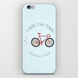 Chicago, Illinois by I Bike iPhone Skin
