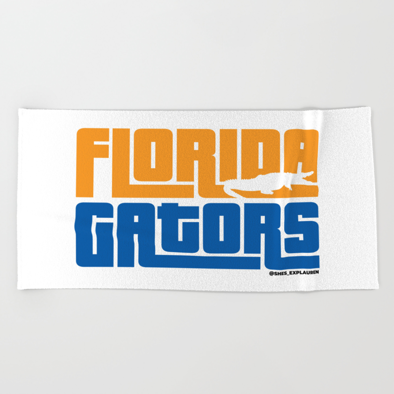 Florida Gators Beach Towel By Explauren