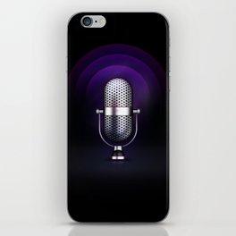 mic iPhone Skin