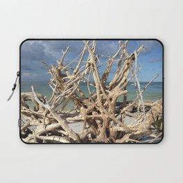 Driftwood Sculpture Cayo Costa Laptop Sleeve