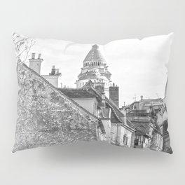 Sacre Coeur view Montmartre Paris Pillow Sham