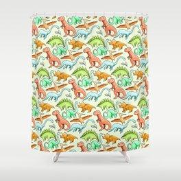 Dinosaur Skin Shower Curtain