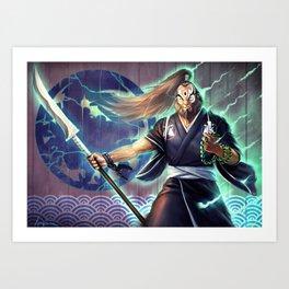 Daigo Sensei Art Print