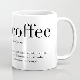 Coffee Definition Coffee Mug