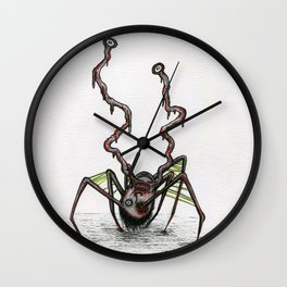 The Norris Spider Head Thing Wall Clock