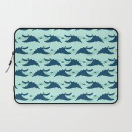Gator-n-Fish Pattern Laptop Sleeve