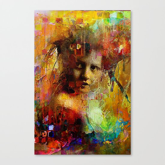 First time you looked at me Canvas Print