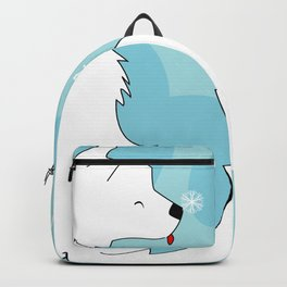 When a dog is in your life, There is always a reason to laugh Backpack