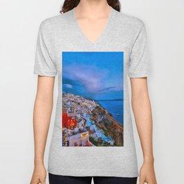 Santorini 7 Unisex V-Neck