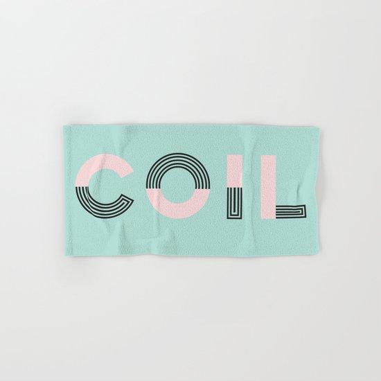 COIL Hand & Bath Towel