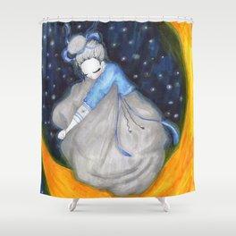 Moon Dreams Shower Curtain