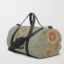 Steam Sass Steampunk Mixed Media Duffle Bag