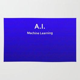 A.I. Machine Learning Rug
