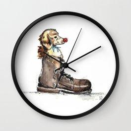 Clown Nose 1 Wall Clock
