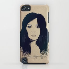 I am Human iPhone Case