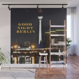 Summernight Berlin Wall Mural