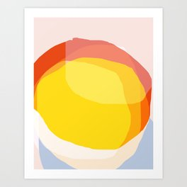 Tropical Sunny Day (Abstract) Art Print