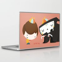 game Laptop & iPad Skins featuring Game by Alfonso Cervantes