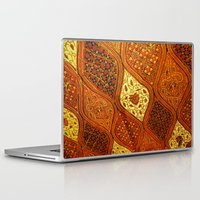batik Laptop & iPad Skins featuring batik  by customgift