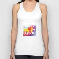 tony stark Tank Tops featuring God Yes! says Tony Stark by Hoboxia