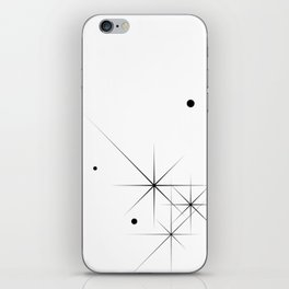 Silent Explosions iPhone Skin