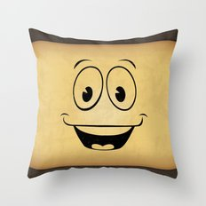 Yes Man Throw Pillow