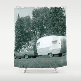 Camper Trailer Shower Curtains