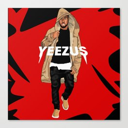 Mr. West Canvas Print