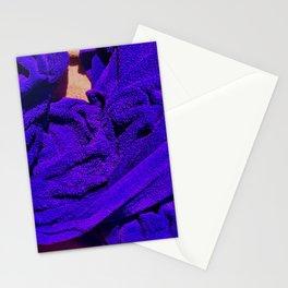Purple Towel Stationery Cards